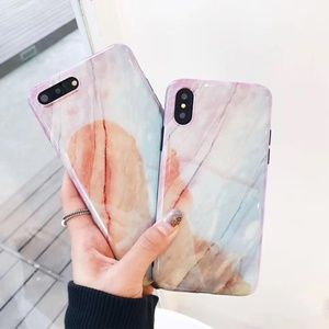 Accessories - NEW iPhone X/7/8/7+/8+ Dream Glossy Marble case